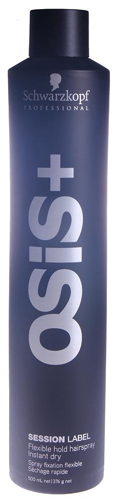 SCHWARZKOPF PROFESSIONAL Лак для волос эластичной фиксации Подиумный / Session Label OSIS+ 500мл