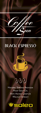 SOLEO Бронзатор максимальный натуральный с запахом кофе эспрессо / Coffe Sun Black Espresso 15 мл