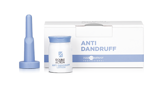 HAIR COMPANY Лосьон против перхоти / Double Action ANTI DANDRUFF LOTION 10*10мл