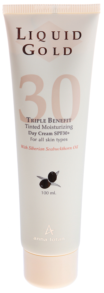 "ANNA LOTAN ���� ������� ""������� ������"" SPF30 / Triple Benefit Day Cream SPF30 LIQUID GOLD 100��"