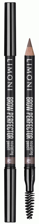 LIMONI Карандаш для бровей 02 / Brow perfector