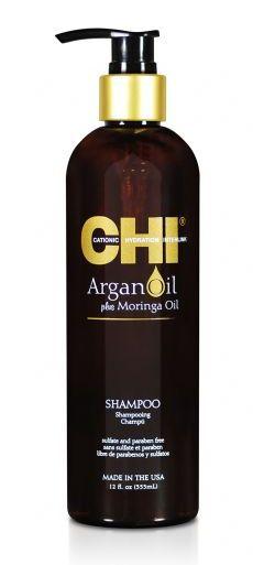 CHI Шампунь с экстрактом масла арганы и дерева моринга / ARGAN OIL 355 мл -  Шампуни
