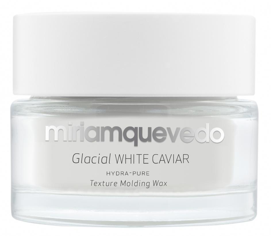 Купить MIRIAM QUEVEDO Воск моделирующий увлажняющий с маслом прозрачно-белой икры для волос / Glacial White Caviar Hydra-Pure Texture Molding Wax 50 мл