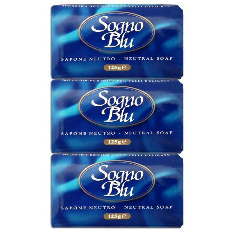 NESTI DANTE Набор мыла для тела Голубая мечта / Sogno Blu 3*125 г -  Мыла