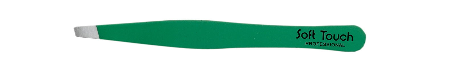 KIEPE Пинцет для бровей Soft touch зеленый