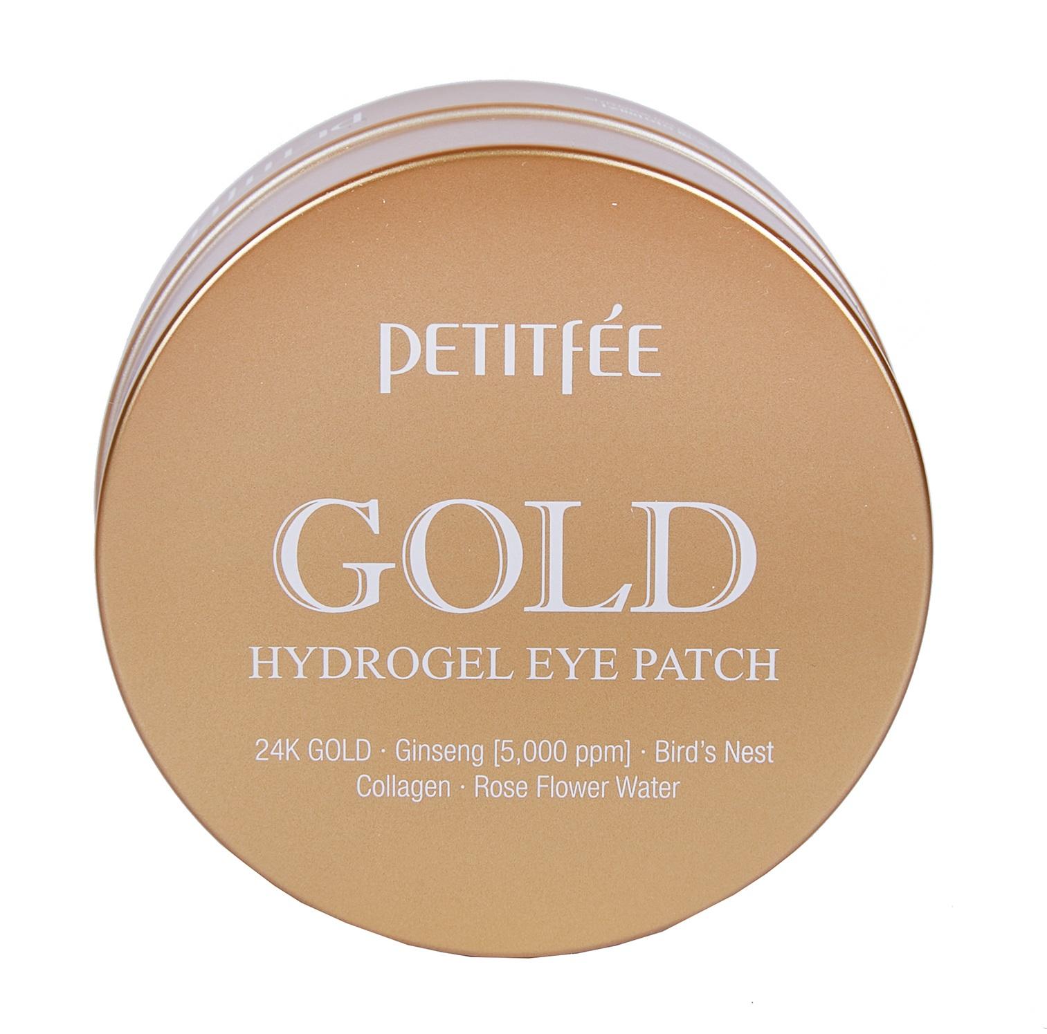 Купить PETITFEE Патчи гидрогелевые с коллоидным золотом для области вокруг глаз / Eye patch 60 шт