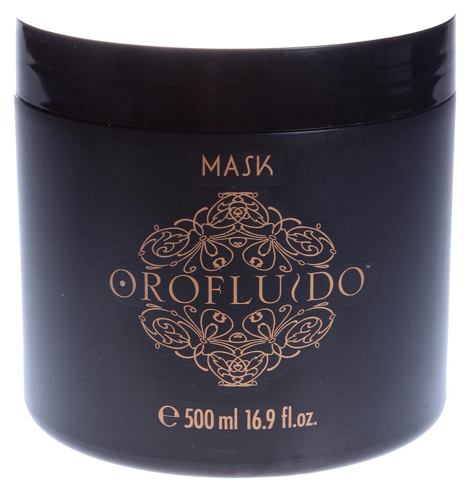 OROFLUIDO Маска для волос Увлажняющий уход / Mask OROFLUIDO 500млМаски<br>Маска для волос Orofluido - это увлажняющее восстановление безжизненных волос и шелковистая красота здоровых локонов. Основу маски составляют натуральные масла аргана, льна и ситника. Масло из ядра дерева арганы защищает волосы от солнца и горячего воздуха, лечит сухие, поврежденные и окрашенные волосы, снимает раздражение и зуд на коже головы. Масло ситника заметно смягчает волосы, вы ощутите увеличение их объема и повышение эластичности. Льняное масло обладает мгновенным эффектом - волосы моментально становятся блестящими, насыщаются витамином Е, так же льняное масло запечатывает кутикулу, что придает волосам однородность и потрясающую гладкость. Содержание в составе маски катионных компонентов позволяет избежать возникновения статического разряда, волосы не электризуются и начинают притягательно сиять.&amp;nbsp; Активные ингредиенты:&amp;nbsp;аргановое масло, льняное масло, масло ситника, катионные компоненты. Способ применения:&amp;nbsp;равномерно распределите по влажным волосам необходимое количество маски. Оставьте на 3-5 минут, а затем тщательно смойте. Для идеального результата используйте маску 2-3 раза в неделю. Для наилучшего восстановительного эффекта добавьте несколько капель эликсира Orofluido в маску.<br><br>Вид средства для волос: Увлажняющий