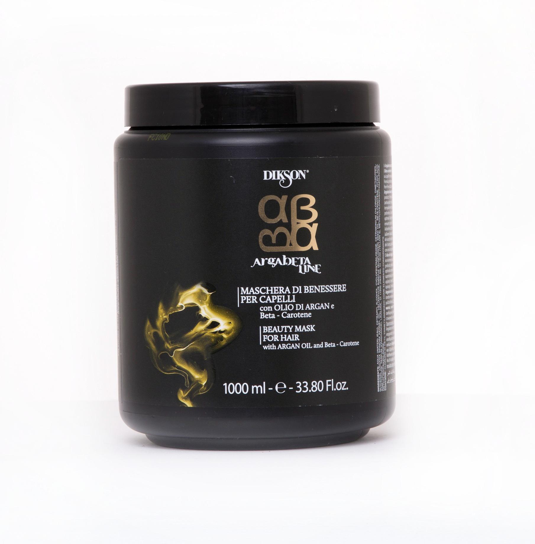 Купить DIKSON Маска восстанавливающая для волос с маслом арганы и морскими водорослями / MASK ARGABETA BEAUTY 1000 мл