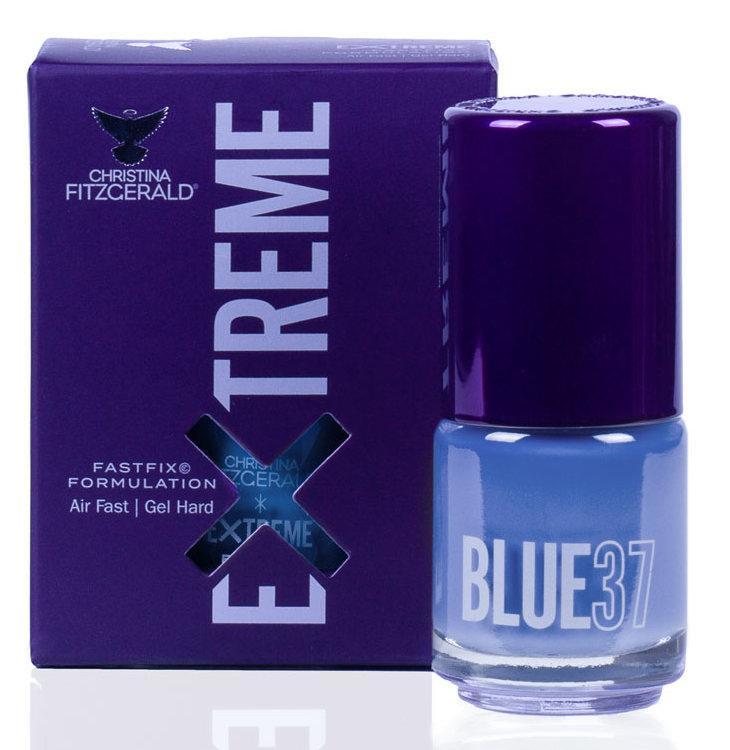 Купить CHRISTINA FITZGERALD Лак для ногтей 37 / BLUE EXTREME 15 мл, Синие
