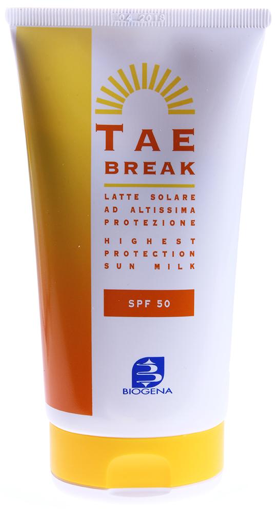 BIOGENA Молочко солнцезащитное для лица и тела SPF50 / BIOGENA TAE 150мл