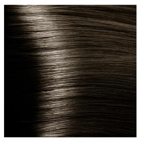 KAPOUS NA 5.07 краска для волос, насыщенный холодный светло-коричневый / Magic Keratin 100 мл