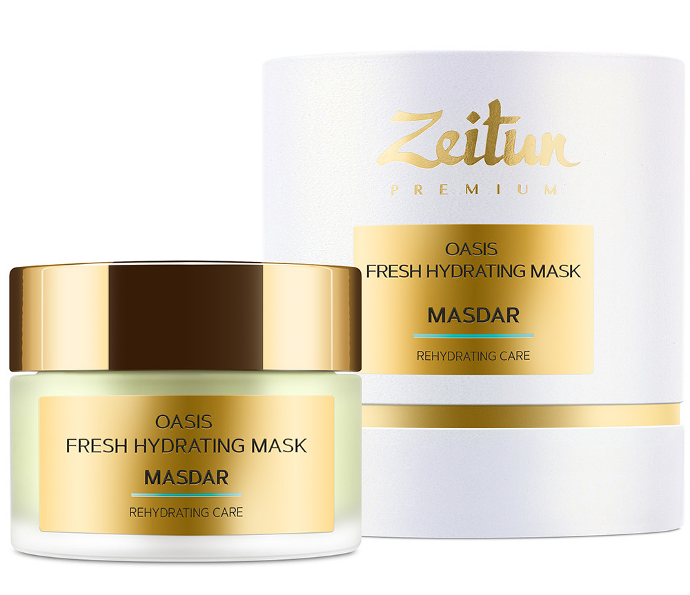 Купить ZEITUN Маска-экспресс освежающая для интенсивного увлажнения кожи / MASDAR Oasis 50 мл