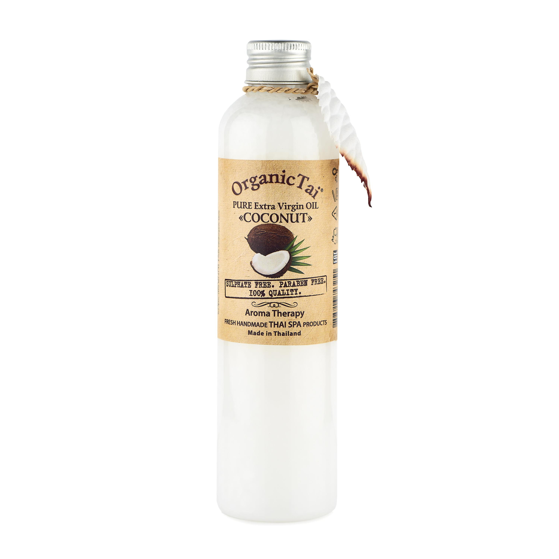 ORGANIC TAI Масло чистое базовое холодного отжима Кокос 260мл