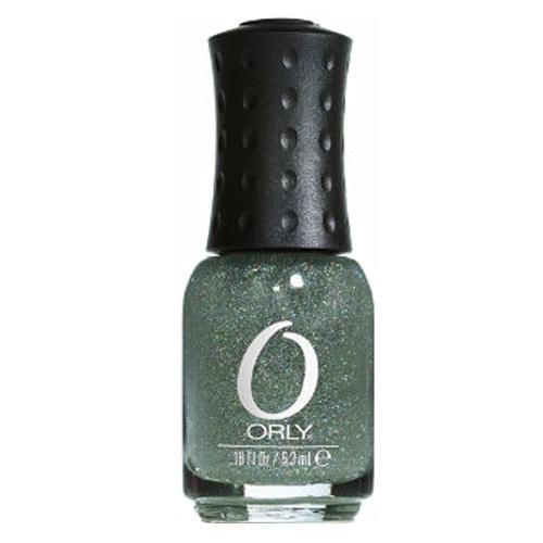 ORLY Мини-лак для ногтей Prisma Gloss Silver 615 5,3млЛаки<br>Коллекция лаков для ногтей ORLY   это палитра более чем 350 оттенков на любой случай и для любого настроения. Подружитесь с ORLY, и на вашем столике будут лаки классических красных и пастельных оттенков, необыкновенные блёстки и супермодные эффекты. Есть отдельная линейка лаков  Французский маникюр . Все они безвредны для ногтей, легко наносятся и не высыхают во флаконе. Форма флакона, колпачка и кисти очень удобны. Уникальная прорезиненная крышка является фирменным знаком ORLY Способ применения: Хорошо перемешайте лак Нанесите первый тонкий слой, дайте высохнуть 1-2 минуты, нанесите второй слой. (Гораздо лучше два тонких слоя лака, а не один толстый.)&amp;nbsp; Кисточкой с капелькой лака коснитесь середины ногтя, и ведите её к краю.&amp;nbsp; Второе движение кисточкой вверх по ногтю, к линии кутикулы так, чтобы между лаком и задним валиком осталось маленькое свободное пространство.&amp;nbsp; Оставшимся на ногте лаком аккуратно закрасьте боковые стороны ногтя.&amp;nbsp;  Запечатайте  торец ногтя последним движением.&amp;nbsp; Таким же образом наносится и второй слой.<br><br>Цвет: Зеленые<br>Виды лака: С блестками