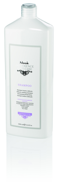 NOOK Шампунь успокаивающий для чувствительной кожи головы Ph 55 / DIFFERENCE HAIR CARE 1000 мл.