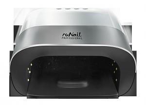 RuNail Прибор LED/UV излучения 48Вт, серебристо-белый