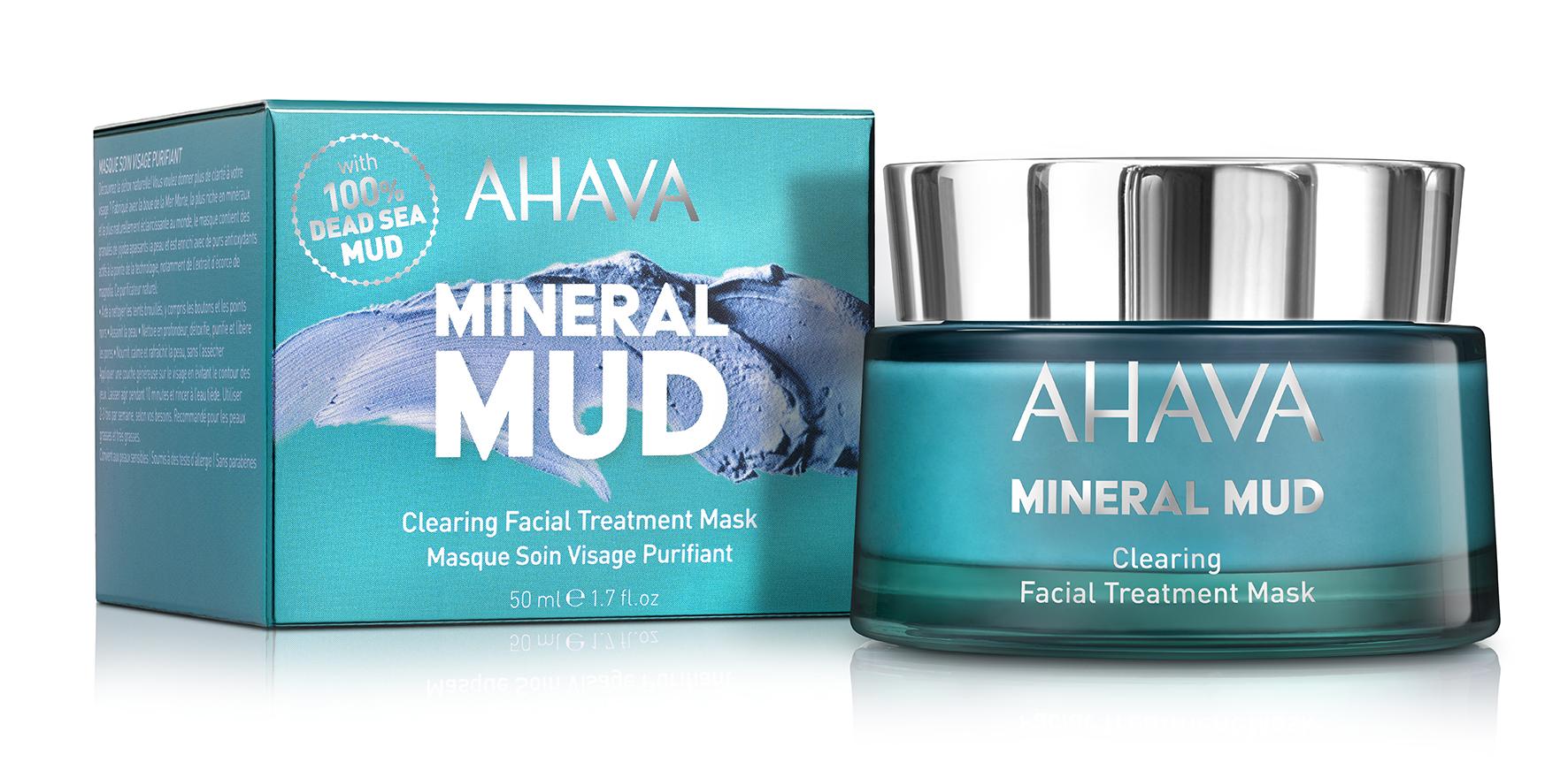 AHAVA Маска-детокс очищающая для лица / Mineral Mud Masks 50 мл