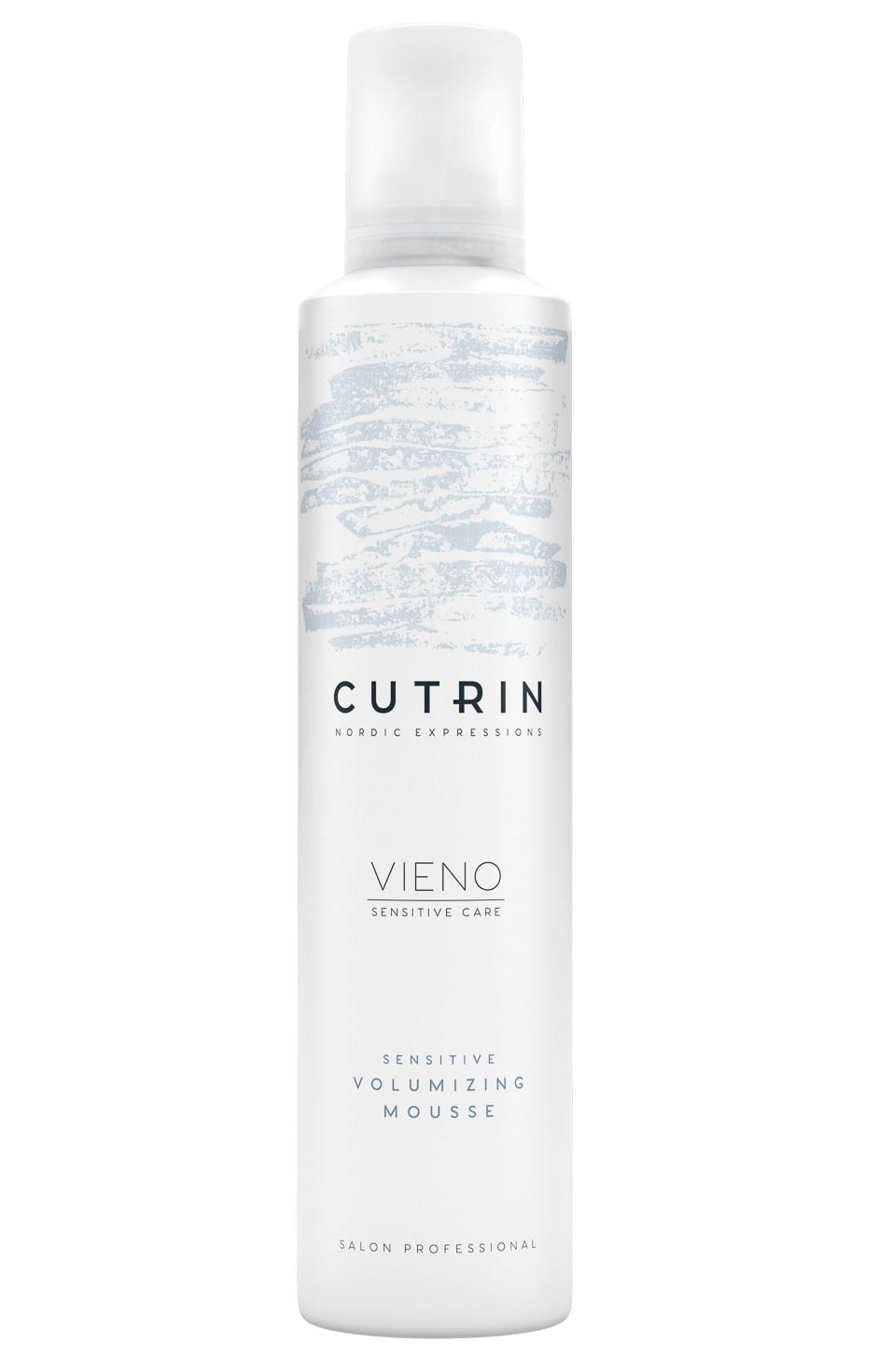 Купить CUTRIN Мусс для объема легкой фиксации без отдушки / VIENO Sensitive Volumizing Mousse Light 300 мл
