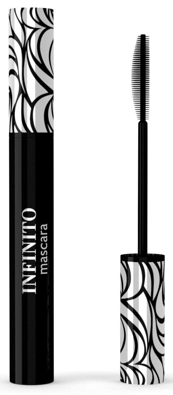 Larte del bello тушь профессиональная для ресниц, черная / infinito 10 мл