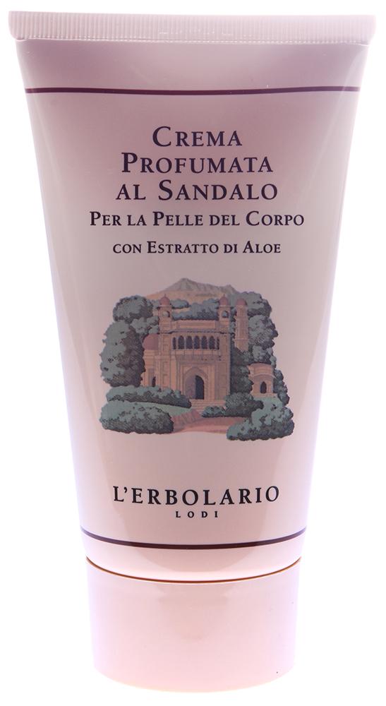 LERBOLARIO Крем ароматизированный для тела Сандал 150 мл