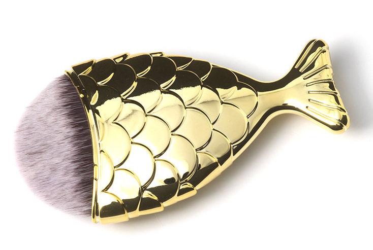 TNL PROFESSIONAL Кисть-рыбка золото L