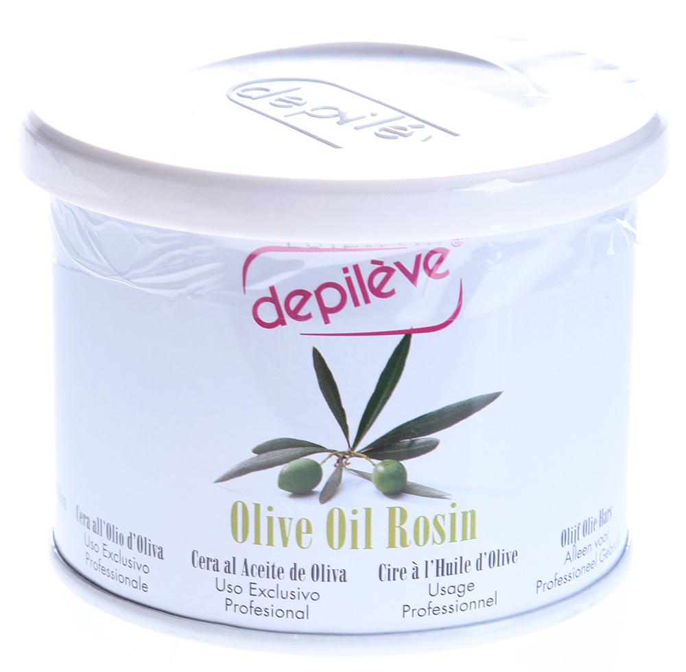 DEPILEVE Воск оливковый, банка 400грВоски<br>С натуральным оливковым маслом, для сухой и чувствительной кожи.Идеальный воск для всех типов кожи, в том числе для сухой и чувствительной кожи, подходит для депиляции на лице, в области бикини и подмышек. Прозрачный воск оливкового цвета с кремообразной текстурой. Активные ингредиенты: Оливковое масло первого отжима(с высоким содержанием витамина Е, обладает питательными, смягчающими и антиоксидантными свойствами), растительное масло (защищает и питает кожу). Температура плавления 37 Способ применения: Наносить тонким слоем.<br><br>Объем: 400<br>Вид средства для тела: Антиоксидантный<br>Типы кожи: Сухая и чувствительная