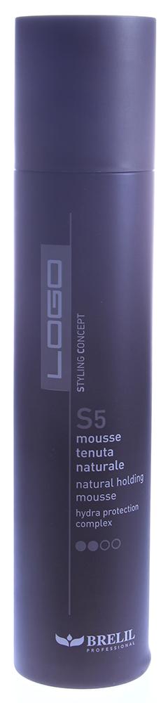 BRELIL Мусс для укладки волос нормальной фиксации / Logo S5 300мл