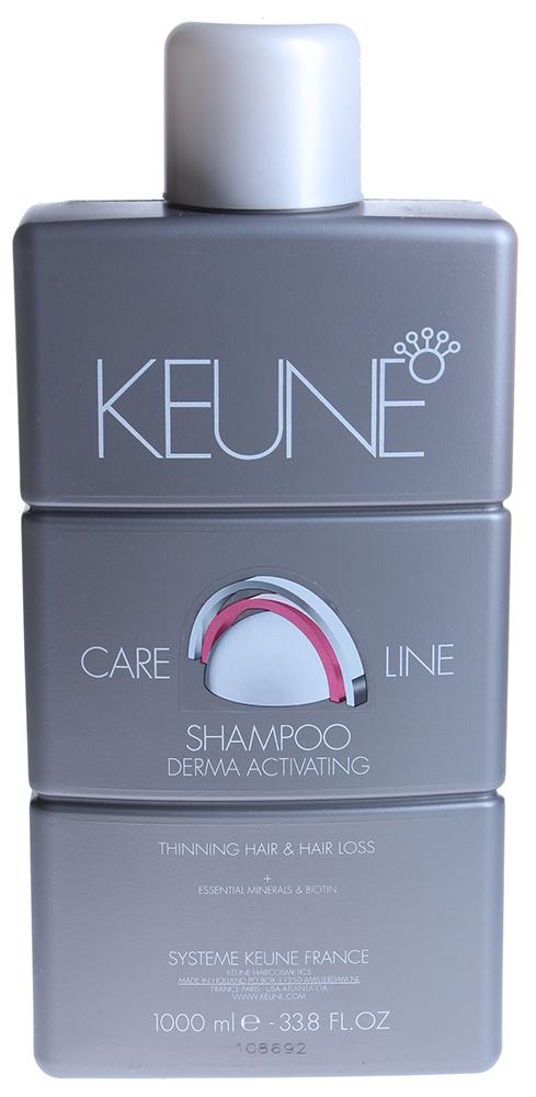 KEUNE Шампунь против выпадения Кэе Лайн / CL ACTIVATING SHAMPOO 1000мл keune кондиционер спрей 2 фазный для кудрявых волос кэе лайн cl control 2 phase spray 400мл