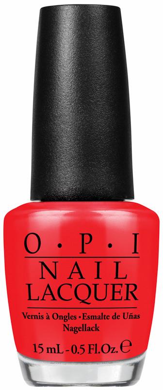 OPI Лак для ногтей I Stop for Red / Brights Edition 15млЛаки<br>Лак для ногтей Я останавливаюсь на красный - этот красный такой горячий, что должен быть вне закона. (текстура крем). Насыщенный, долговечный, блестящий цвет. OPI - это знаменитые оттенки, которые никогда не выйдут из моды: - быстрое нанесение в два слоя: эксклюзивная кисть ProWide для гладкого ровного покрытия; - долговечный цвет: устойчивое к сколам покрытие, стойкий блеск; - восхитительные коллекции: новые актуальные оттенки выпускаются 7 раз в год; - инновационные текстуры и покрытия: шаттер, жидкий песок и другие, OPI следит за развитием технологий; - легендарные названия оттенков: самые обсуждаемые названия лаков в мире. Способ применения: нанесите на ногти 1-2 слоя цветного лака после нанесения базового покрытия, для неоновых и ярких лаков желательно использовать специальное базовое покрытие Put a Coat On!. Для придания прочности и создания блеска затем рекомендуется использовать верхнее покрытие.<br><br>Цвет: Красные<br>Объем: 15 мл<br>Виды лака: Глянцевые