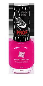 BRIGITTE BOTTIER 809 лак для ногтей, малиновый перламутр / PROF FORMULA 12 мл