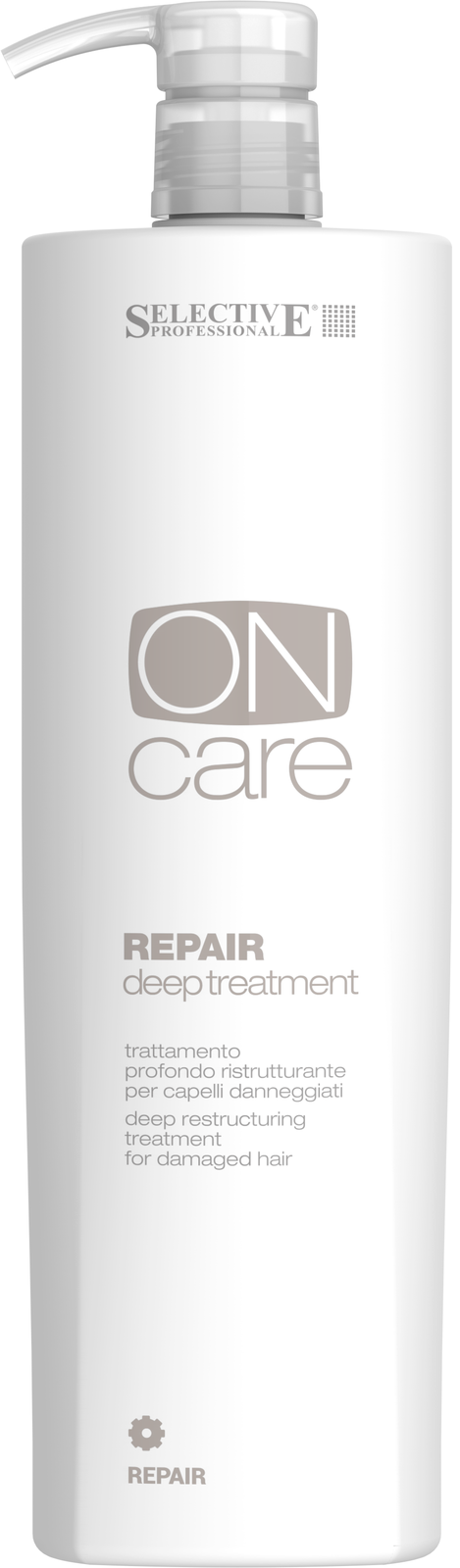 SELECTIVE PROFESSIONAL Средство глубокого восстановления поврежденных волос / On Care Repair 1000 мл серьги ювелирная бижутерия artis серьги ювелирная бижутерия