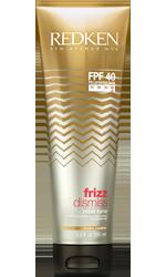 REDKEN Несмываемый крем-уход для плотных волос FPF 40 / FRIZZ DISMISS 250млКремы<br>Rebel Tame   Несмываемый смягчающий крем-контроль для плотных волос Обеспечивает дисциплину, контроль и легкость укладки даже самым непослушным волосам. Способ применения: нанесите до использования стайлинга равномерно на влажные волосы.<br><br>Объем: 250 мл<br>Вид средства для волос: Несмываемый