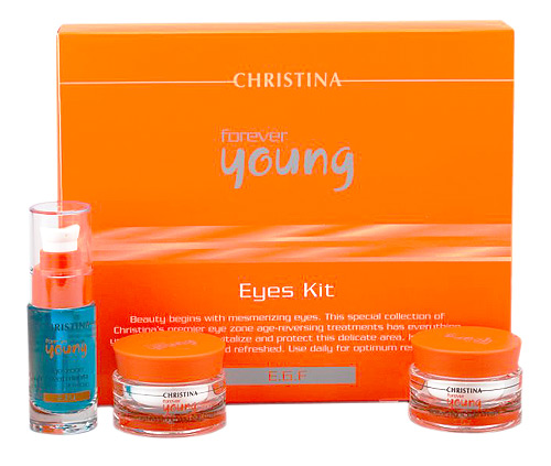 CHRISTINA Набор для глаз (3 препарата) / Eyes Kit FOREVER YOUNG