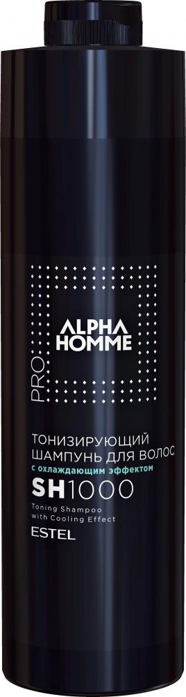 Купить ESTEL PROFESSIONAL Шампунь тонизирующий с охлаждающим эффектом для волос / ALPHA HOMME PRO 1000 мл