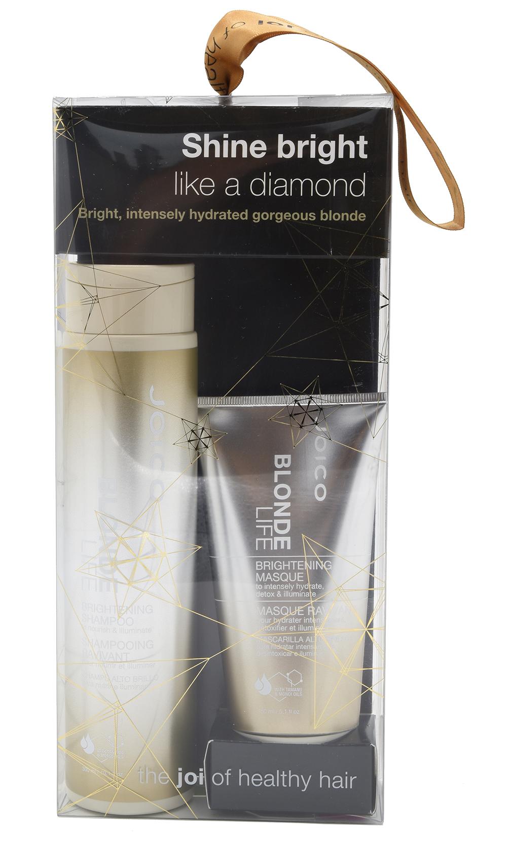 JOICO Набор Бриллиантовый Блонд для сохранения чистоты и сияния блонда ( шампунь 300 мл, маска 150 мл) / BLOND LIFE