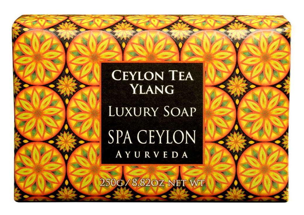 SPA CEYLON Мыло роскошное Цейлонский чай и иланг-иланг 250 г