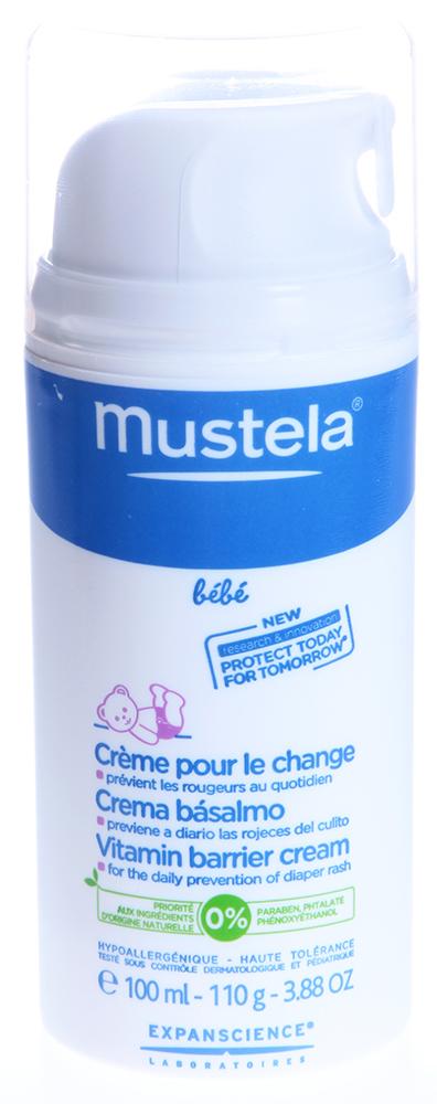 MUSTELA Крем под подгузник защитный / МУСТЕЛА БЕБЕ флакон с дозатором 100мл от Галерея Косметики