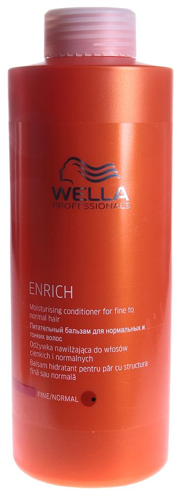WELLA Бальзам питательный для объема нормальных и тонких волос / Enrich 1000мл