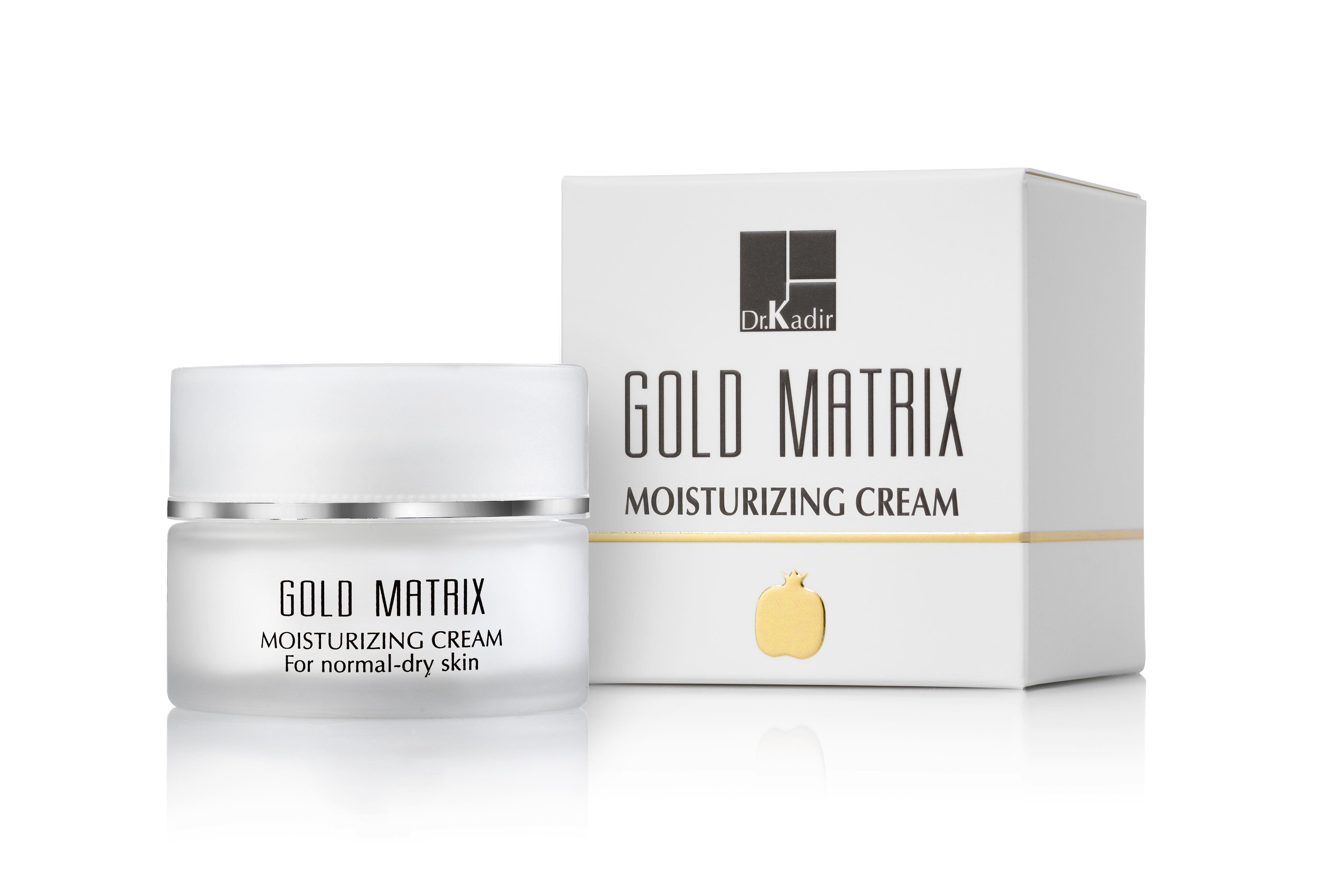 DR KADIR Крем увлажняющий для нормальной/сухой кожи / Gold Matrix home care 50мл