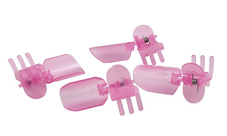 HOLIKA HOLIKA Колпачки для защиты лака / Nail Dry Cover 10 шт