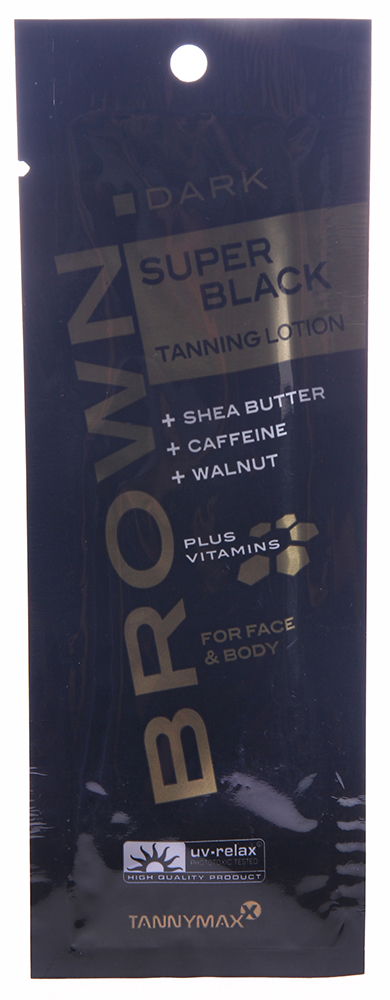 TANNYMAXX �������� ��� ������ � ������� / Super Black Tanning Lotion BROWN 15��