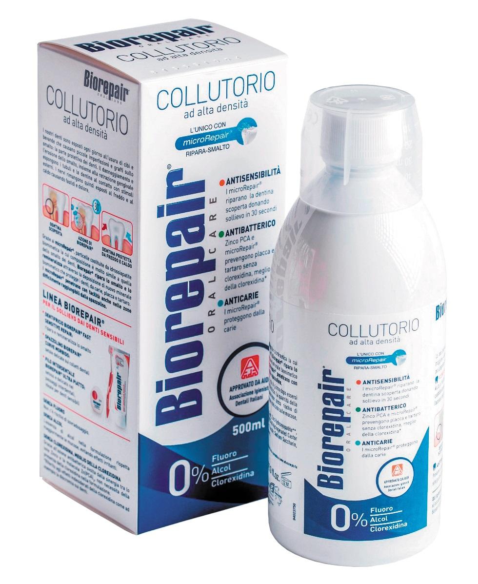 BIOREPAIR Ополаскиватель для полости рта / Mouthwash Antibacterial 500 мл