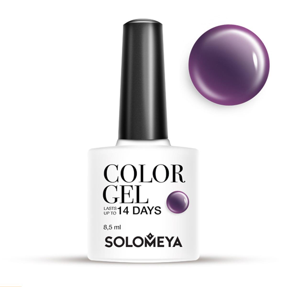 SOLOMEYA Гель-лак для ногтей SCG066 Орион / Color Gel Orion 8,5мл трансформаторы купить т 066 уз 200 5