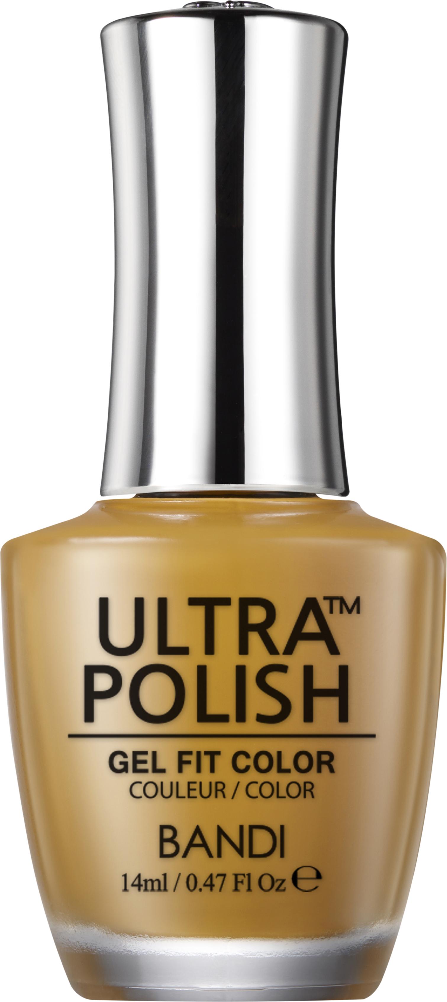 Купить BANDI UP208 ультра-покрытие долговременное цветное для ногтей / ULTRA POLISH GEL FIT COLOR 14 мл, Оранжевые