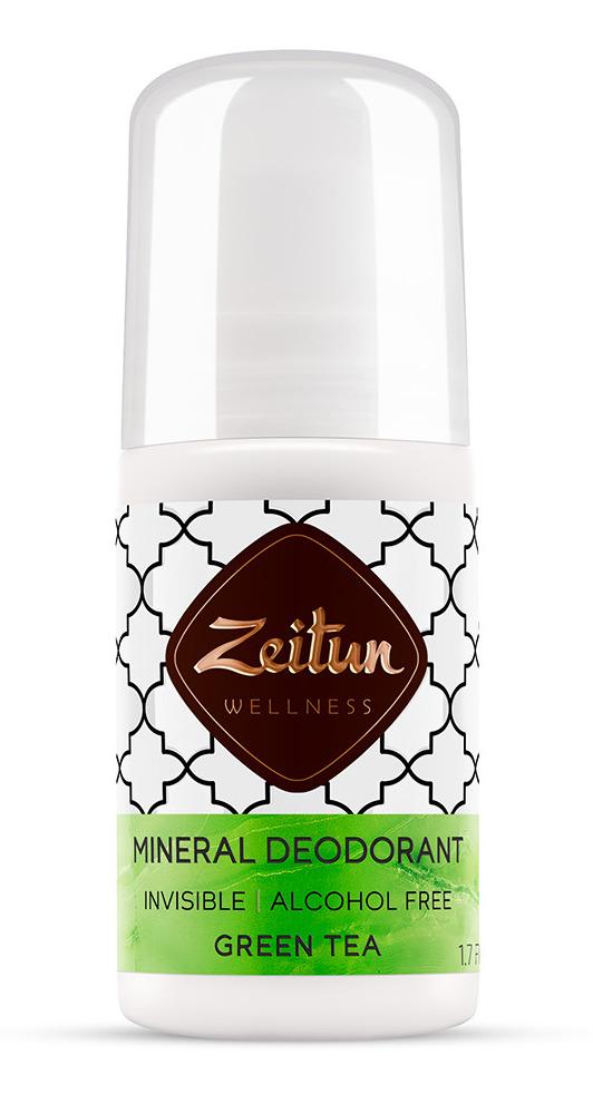 ZEITUN Дезодорант минеральный шариковый Зеленый чай 50 мл фото