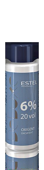ESTEL PROFESSIONAL Оксигент 6% / DE LUXE 60млОкислители<br>Специально разработанный стабилизированный оксигент в виде эмульсии молочного цвета. Позволяет доcтичь наилучших результатов с крем-красками ESTEL DE LUXE. Способ применения: добавить к крем-краске ESTEL DE LUXE нужное количество оксигента, перемешать, нанести на волосы.<br><br>Объем: 60 мл<br>Содержание кислоты: 6%