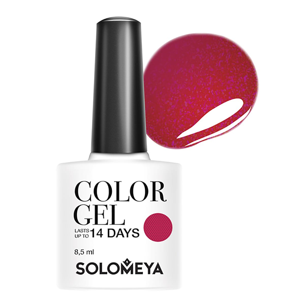 SOLOMEYA Гель-лак для ногтей SCG086 Коктейль / Color Gel Coctail 8,5 мл - Гель-лаки