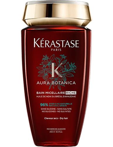 KERASTASE Шампунь-ванна для сухих и чувствительных волос Риш / АУРА БОТАНИКА 250 мл