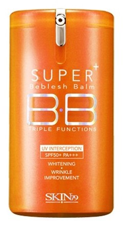 SKIN79 ББ крем / Super Plus Beblesh Balm Triple Functions SPF 50+ PA+++ (Orange) 40 г -  Кремы