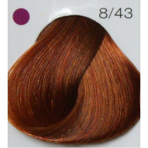 LONDA PROFESSIONAL 8/43 Краска для волос LC NEW инт.тонирование светлый блонд медно-золотистый, 60мл